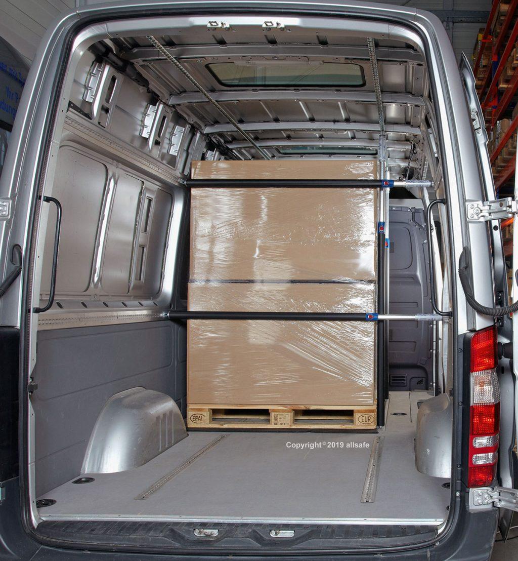 Laderaumboden und Seitenwandverkleidung Laderaumschutzpaket Strukturkammerplatte Siebdruckplatte Transporterboden Transporterverkleidung Airlineschiene